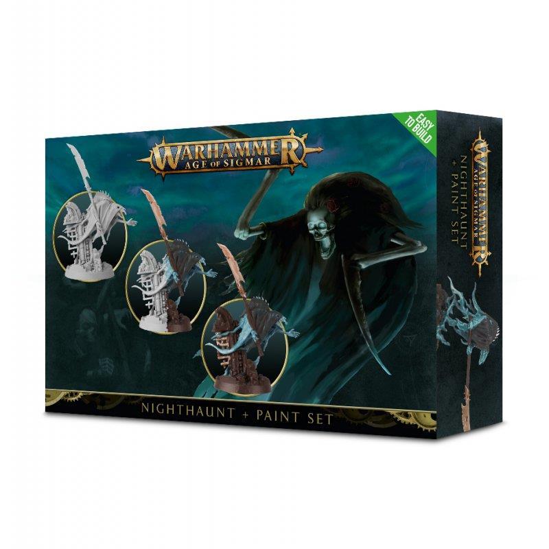 Games Workshop Warhammer Age of Sigmar Nighthaunt Paint Set