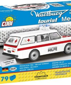Cobi Wartburg 353 Krankenwagen1
