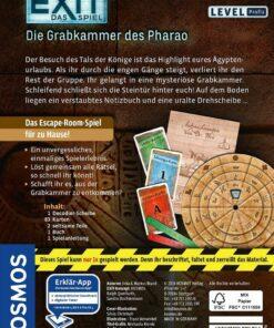 Das Spiel Die Grabkammer des Pharao, Kennerspiel des Jahres 20171