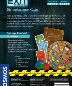 Das Spiel Die verlassene Hütte, Kennerspiel des Jahres 20171