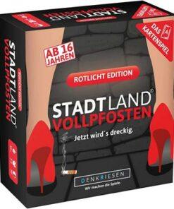 Denkriesen-Stadt-Land-Vollpfosten-Rotlicht-Edition