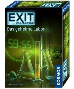 EXIT Das Spiel Das geheime Labor, Kennerspiel des Jahres 2017