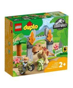 LEGO-DUPLO-10939-Ausbruch-des-T-rex-und-Triceratops