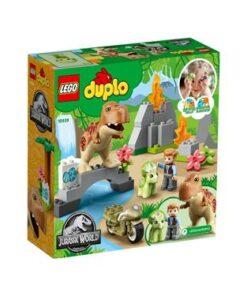 LEGO-DUPLO-10939-Ausbruch-des-T-rex-und-Triceratops1
