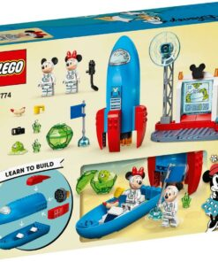 LEGO® Mickey and Friends 10774 Mickey Mouse & Minnie Mouse's Weltraumrakete1