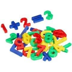 Magnet-Zahlen Zeichen