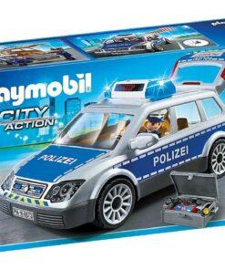 Polizei-Einsatzwagen