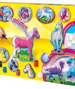 SES Creative 01155 Gipsgießset Pferde