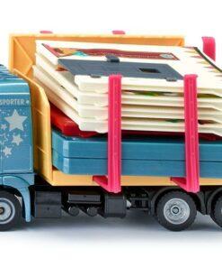 SIKU 3562 Fertighaus-Transporter