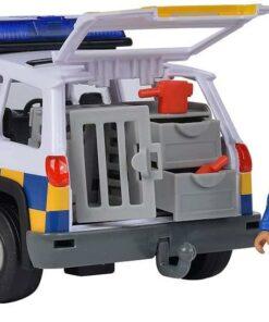 Simba Feuerwehrmann Sam Polizeiauto 4x4 mit Malcom Figur1