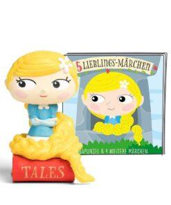 tonies® Hörfigur - 5 Lieblings-Märchen Rapunzel und 4 weitere Märchen
