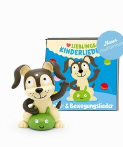 tonies® Hörfigur Lieblings-Kinderlieder Spiel- und Bewegungslieder - Neuer Audioinhalt