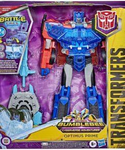 Hasbro - Transformers - Cyberverse Adventures Officer-Klasse Optimus Prime