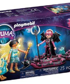 PLAYMOBIL® 70803 Adventures of Ayuma - Crystal Fairy und Bat Fairy mit Seelentieren