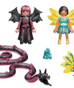 PLAYMOBIL® 70803 Adventures of Ayuma - Crystal Fairy und Bat Fairy mit Seelentieren1
