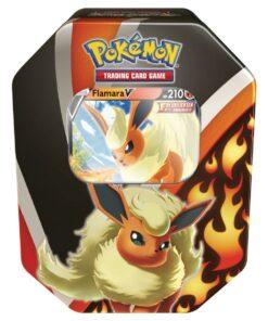 Pokémon Herbst V Tin 95 Flamara